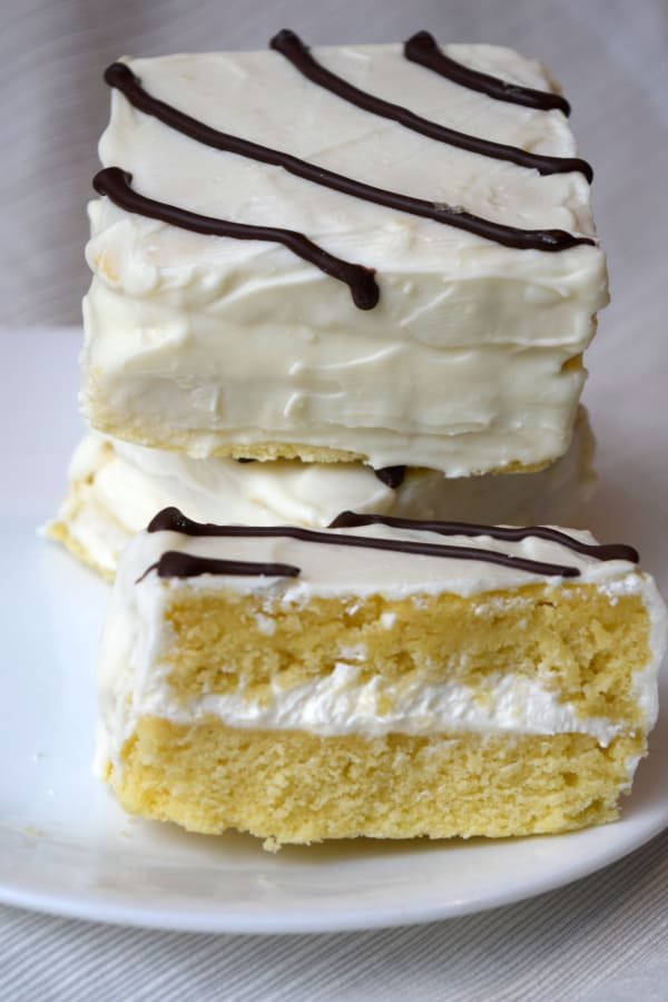 Down Home Delish This fun and festive recipe combines chocolate and vanilla batter in the pan to create zebra stripes satisfying everyone, especially those who love a. homemade little debbie zebra cakes